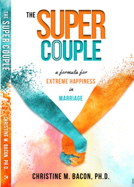 The Super Couple by Christine M. Bacon, book cover