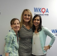 Breakfast with Bacon show host Dr. Christine Bacon and guests Mary Diaz and Candance Moore